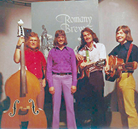 Terry Bridle's band Romany Brew