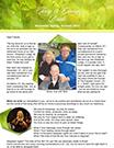 Terry and Ginny Bridle Newsletter April 2014